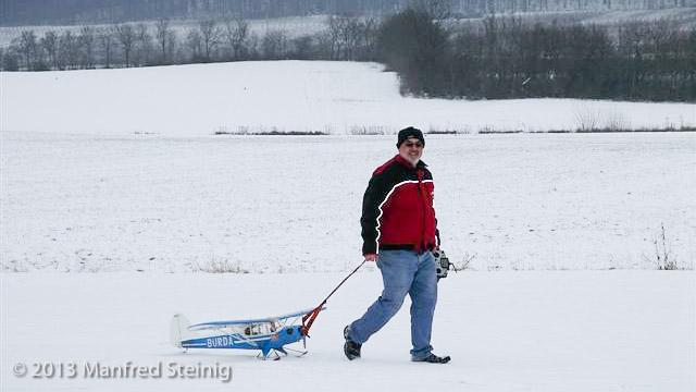 Schnee kann auch seine Vorteile haben...