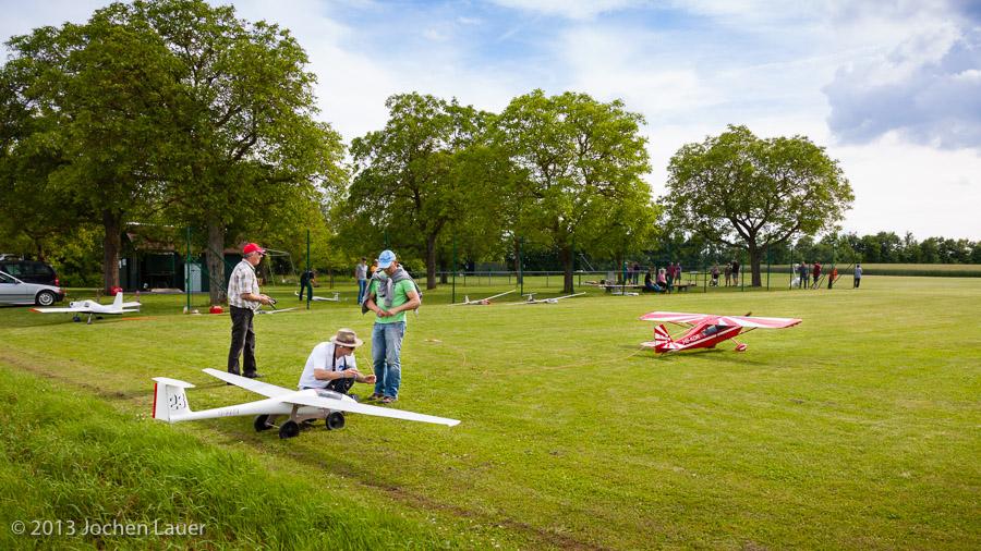 Pilotentreffen 2013 in Volkach
