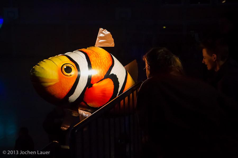 Unterwassershow