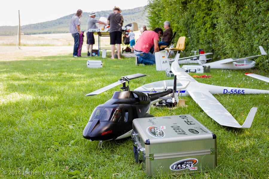 Pilotentreffen 2014 in Kitzingen