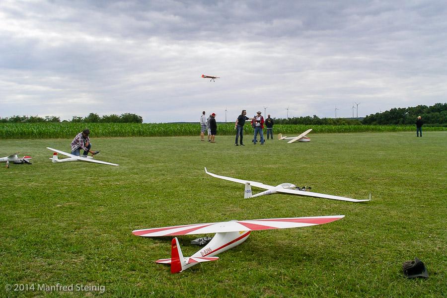 Pilotentreffen 2014 in Volkach